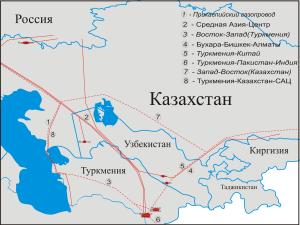 ბუხარა-ტაშკენტი-ბიშკეკი-ალმათის გაზსადენი