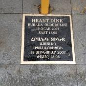 ჰრანტ დინქის მკვლელობის ადგილი